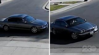 Home Burglary Suspect Vehicle