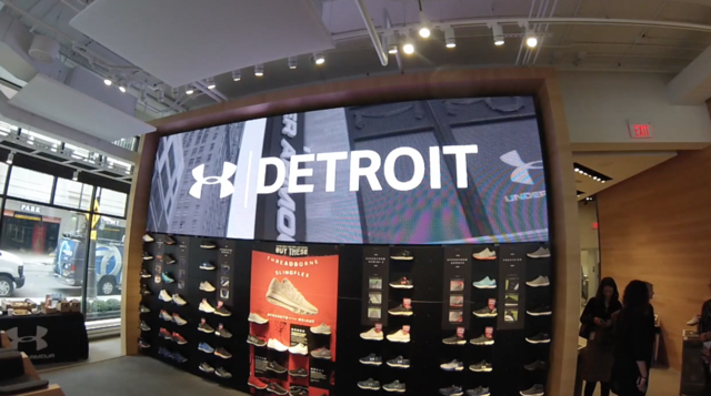 Photo gallery: Inside the Under Armour store in downtown Detroit