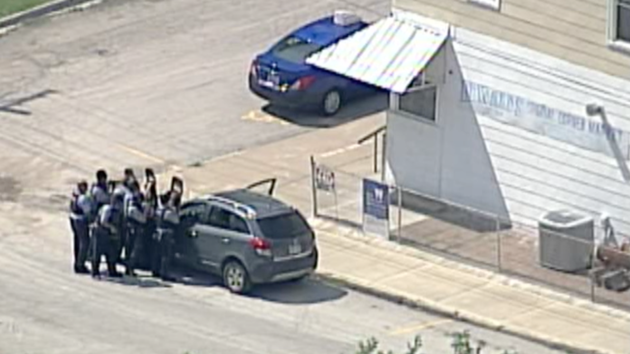 KCK officer involved shooting Mill Street.png