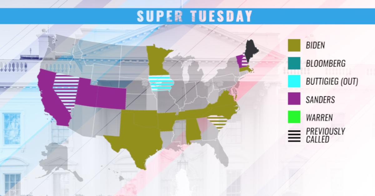 Democrats Coalesce Around Biden And Sanders On Super Tuesday