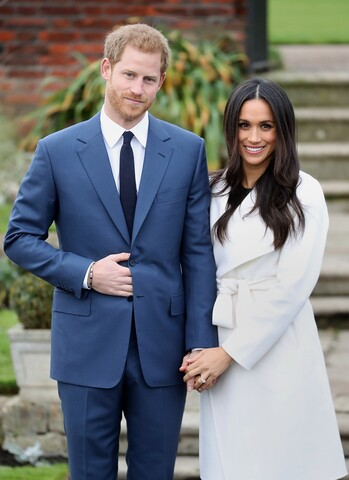 Prince Harry officially engaged to American actress Meghan Markle