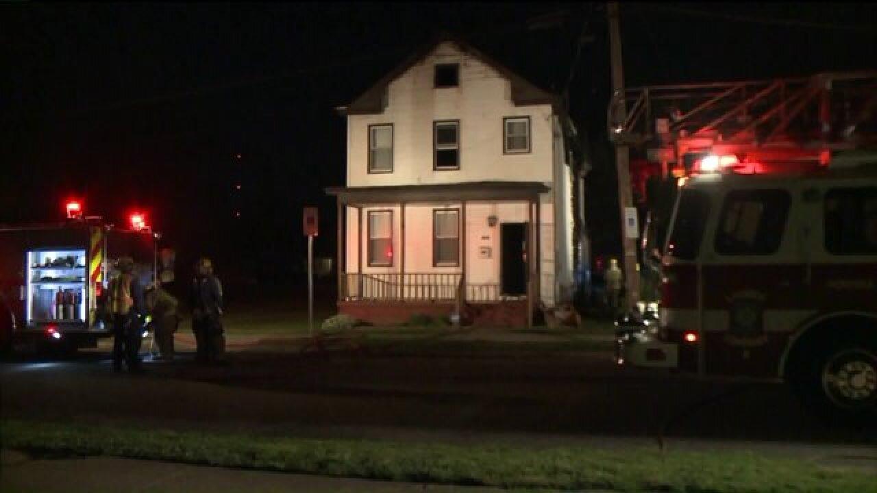 Fire officials investigate Norfolk housefire