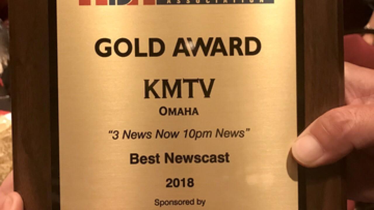3 News Now honored as Nebraska's best broadcast