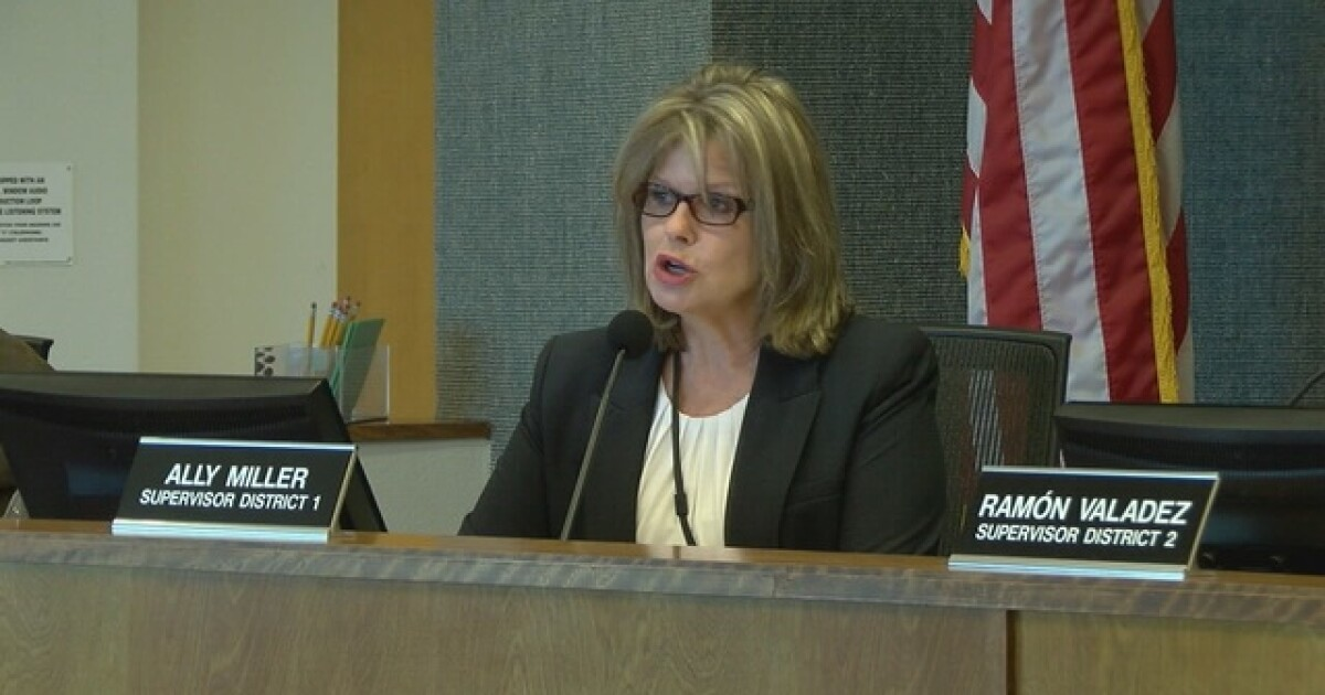 Pima County supe Ally Miller won't seek re-election