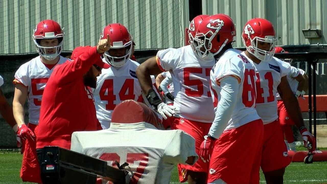 Chiefs rookie minicamp begins