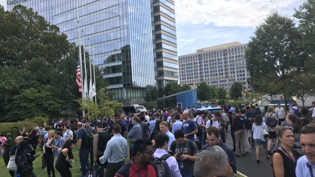 USA Today building in Virginia evacuated after false reports of weapon