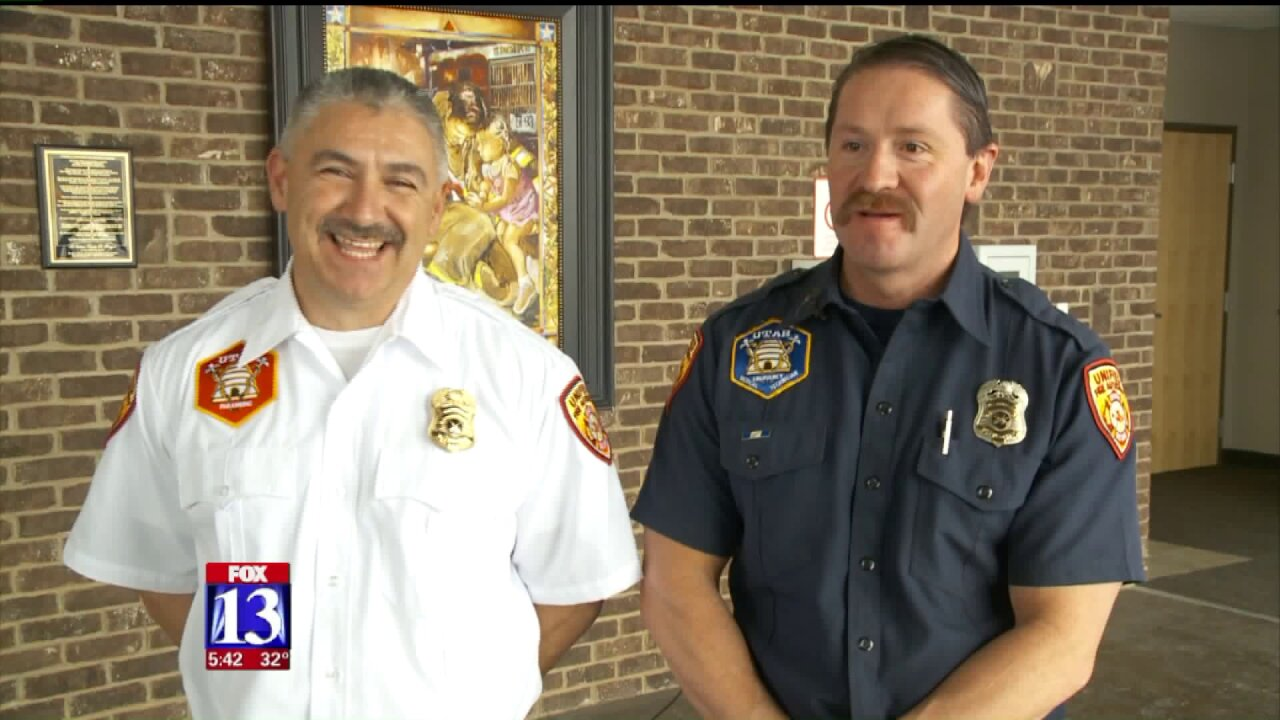 Utah brothers retire together after 50 years of combined service fightingfires