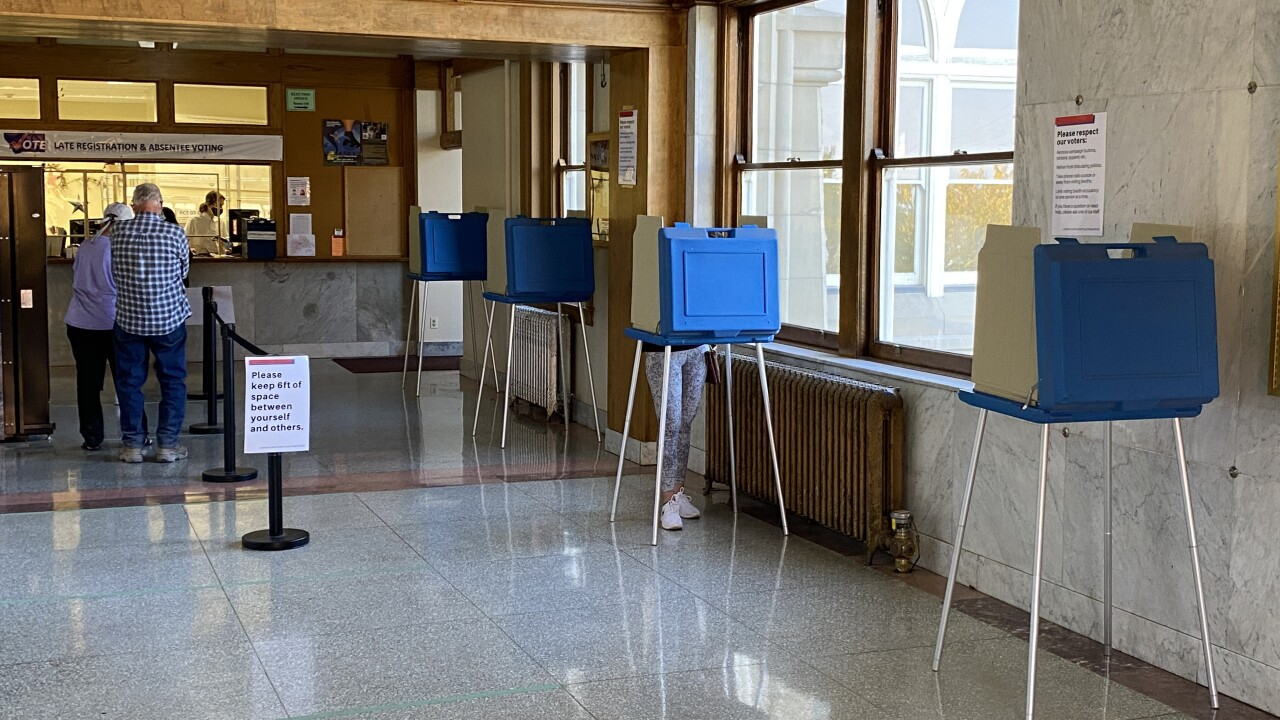 Montana counties open in-person early voting for November election