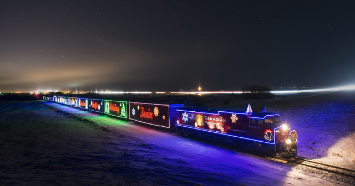 Cp Holiday Train Schedule 2020 Us Canadian Pacific Holiday Train to pass through metro Detroit