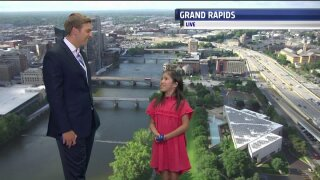 Congrats to our July Weather Kid, Mary!