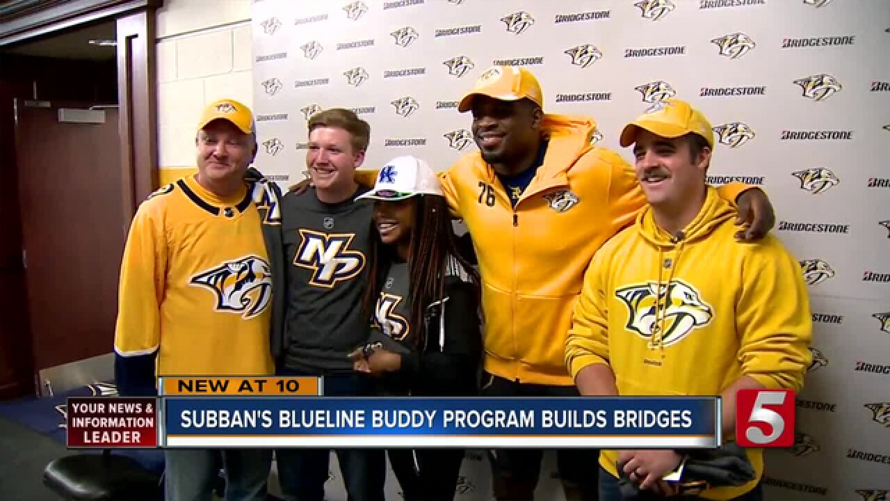 PK Subban's 'Blueline Buddy' Program Builds Bridges Between Police, Youth