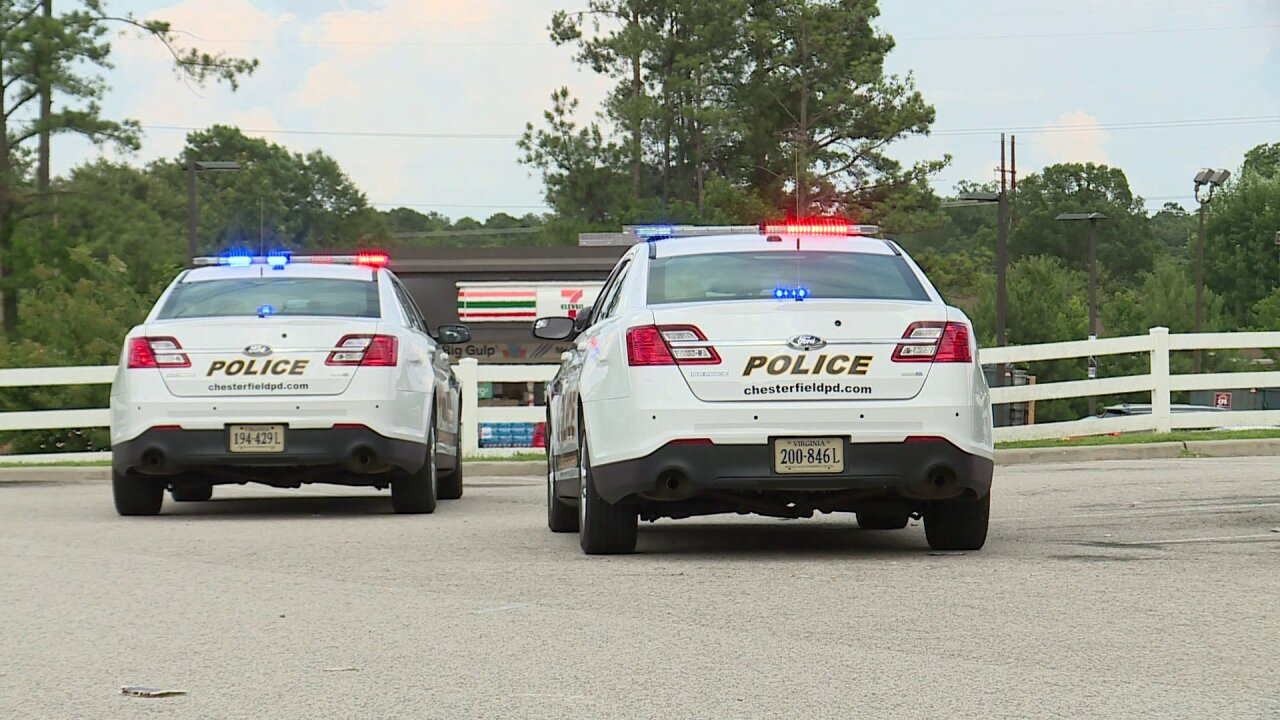 Police investigating armed robbery at Chesterfield dollarstore
