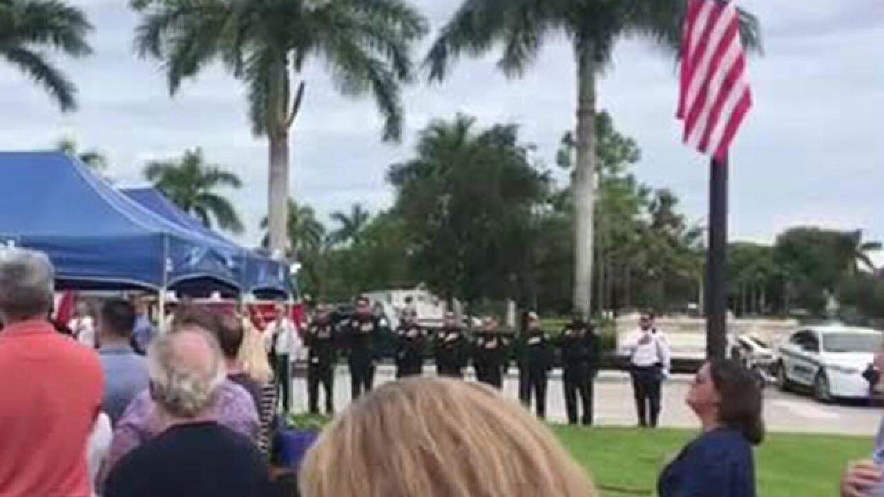 9/11 memorial ceremony held in Wellington