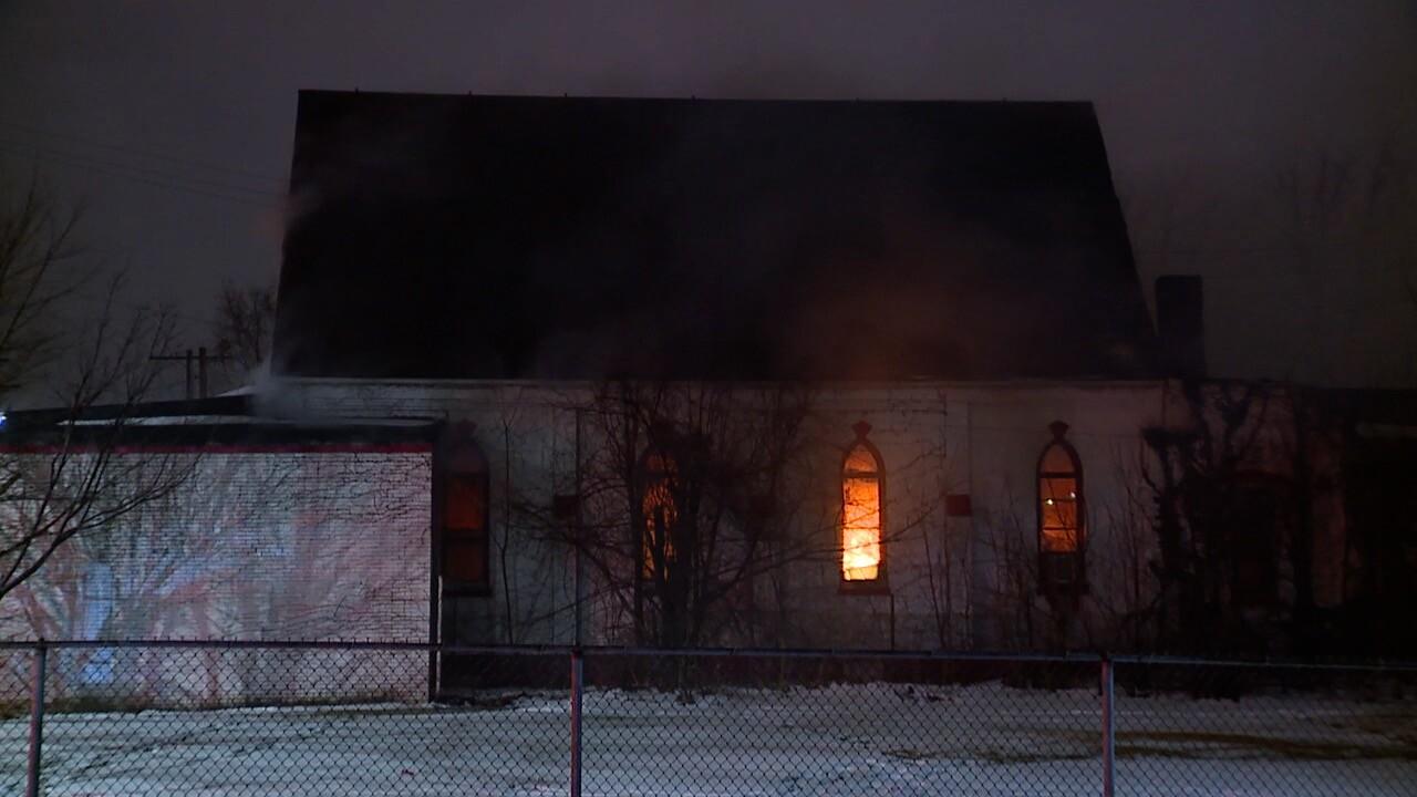 Cedar Ave church fire CLE.jpg