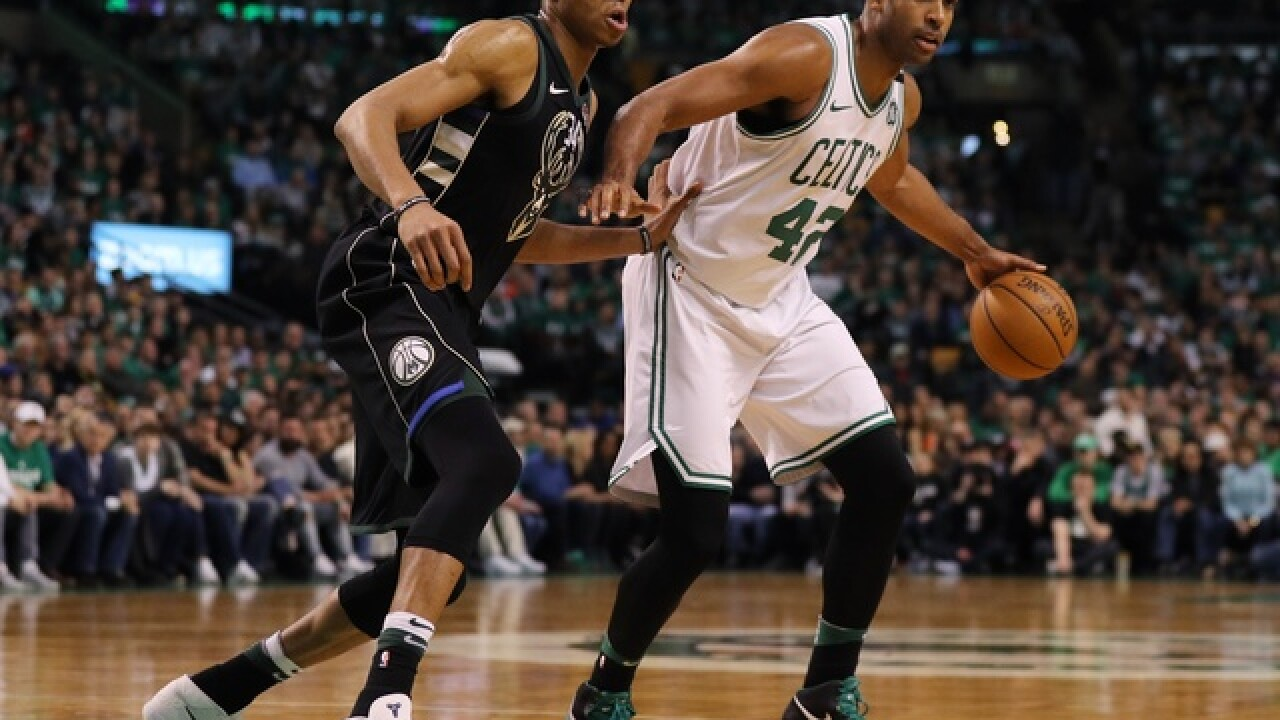 Bucks fall to Celtics 113-107 in OT thriller in first game of NBA Playoffs