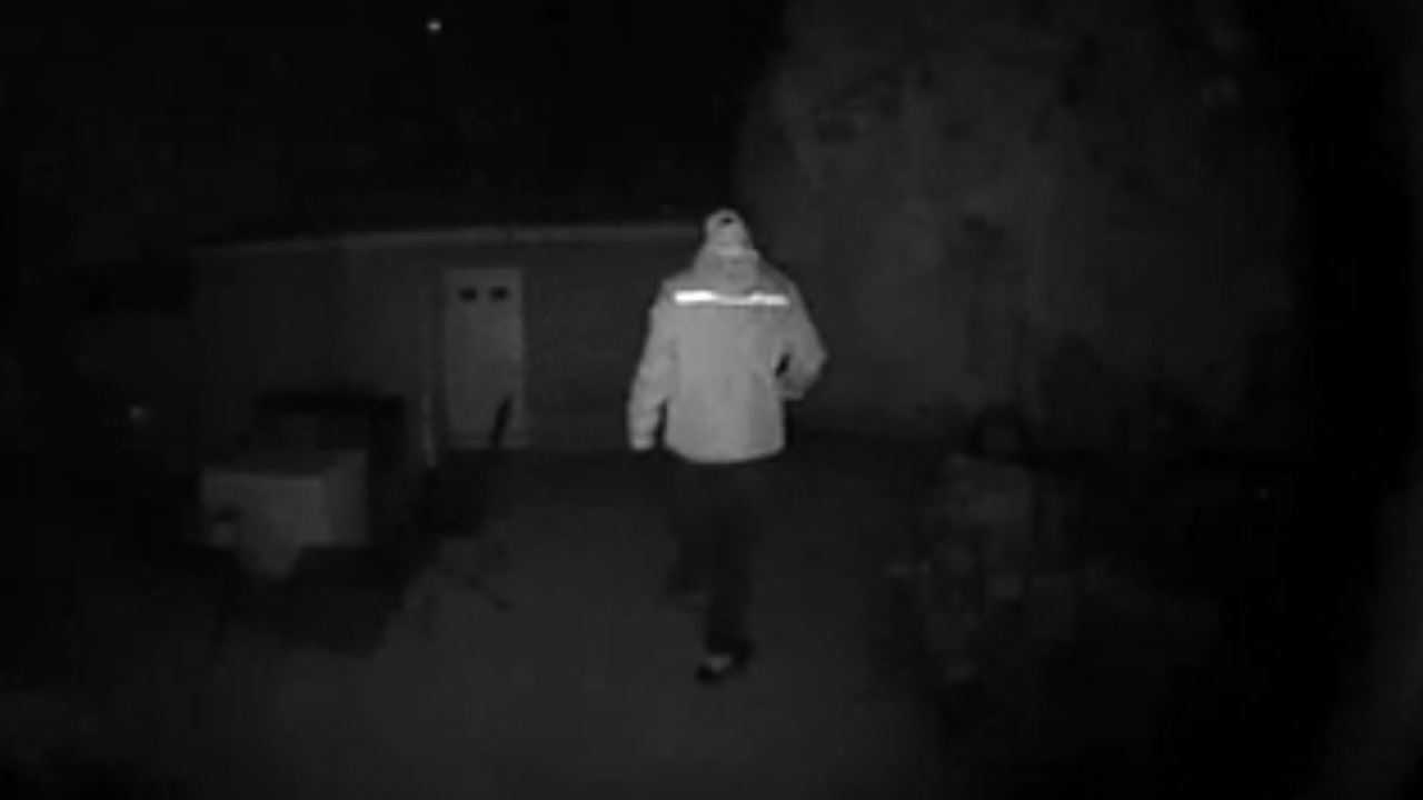 Whitefish Bay prowler caught on camera