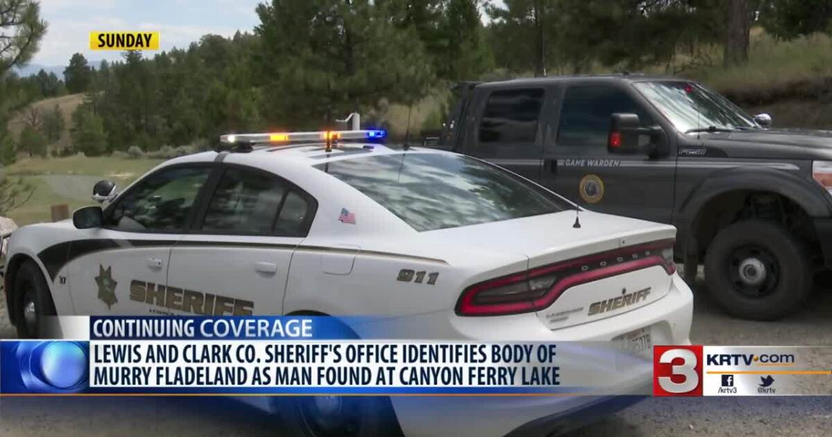 Body found on Sunday at Canyon Ferry identified