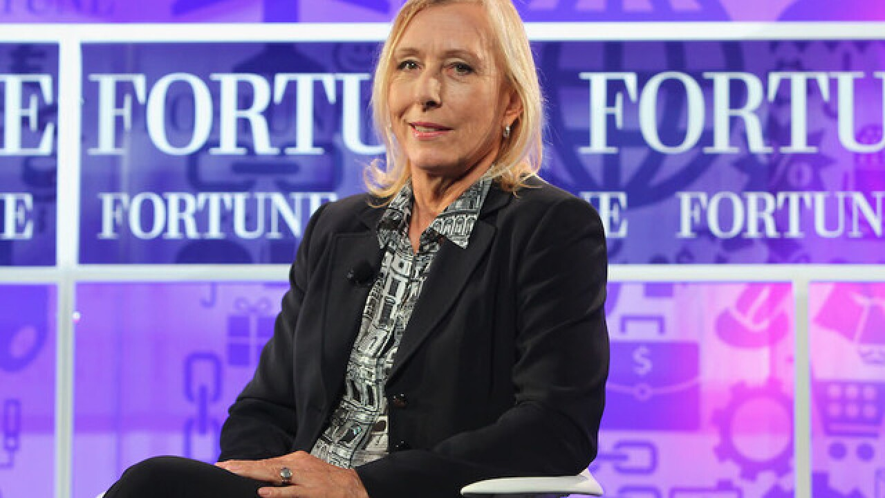 Martina Navratilova: Margaret Court is a 'racist and a homophobe'
