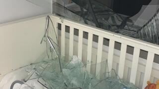 Shattered Glass In Beirut Crib