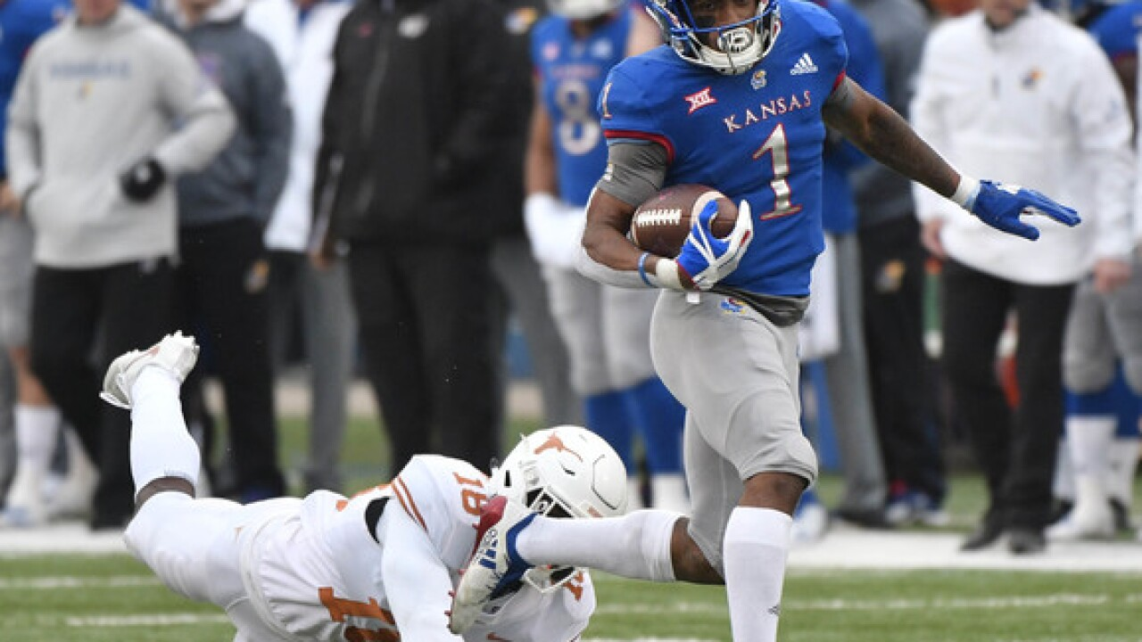 KU star running back arrested in Lawrence