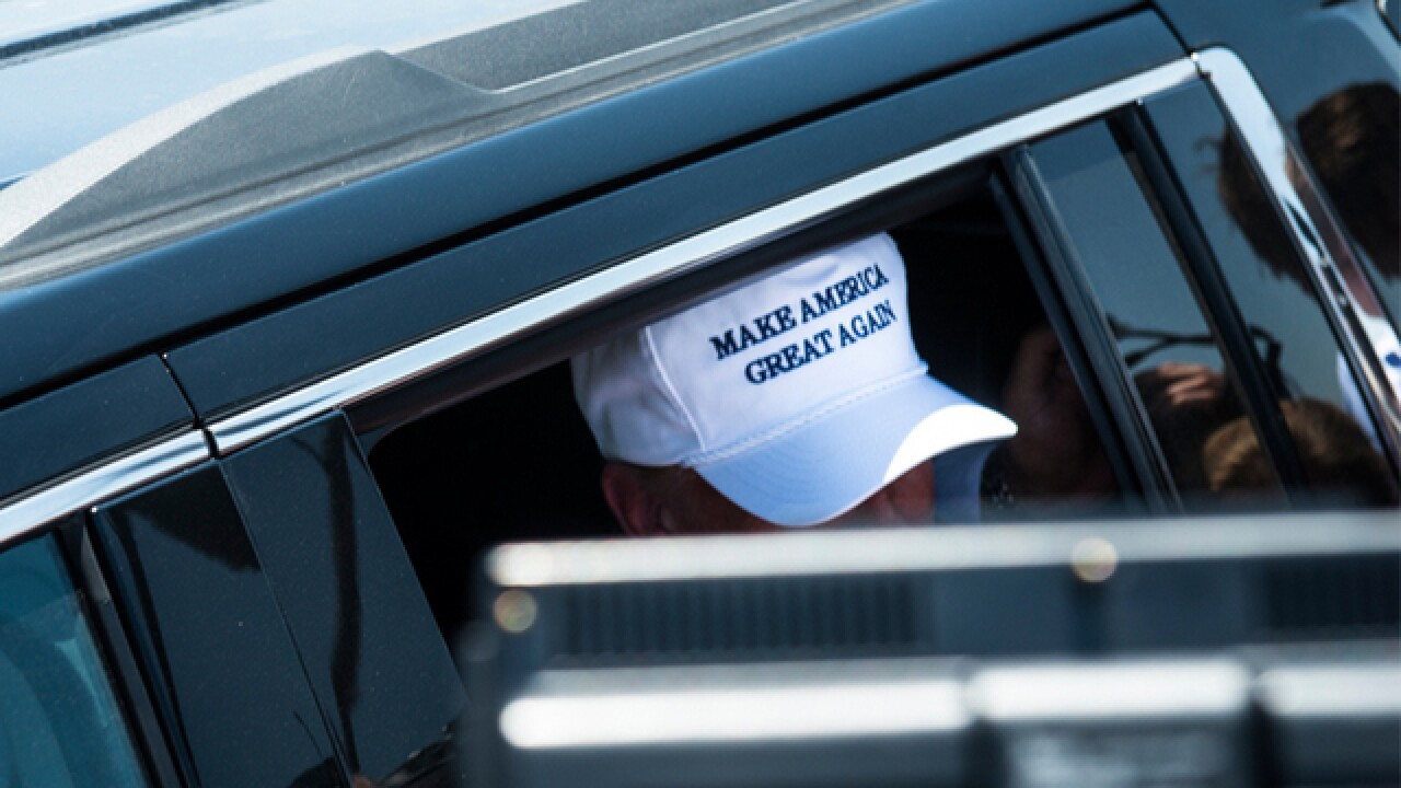 $1M for hats? Follow Trump's campaign cash