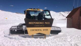 snowplow independence pass 2021