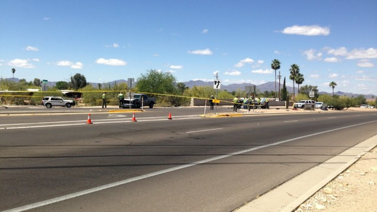 Deadly collision at Ina and Westward Look