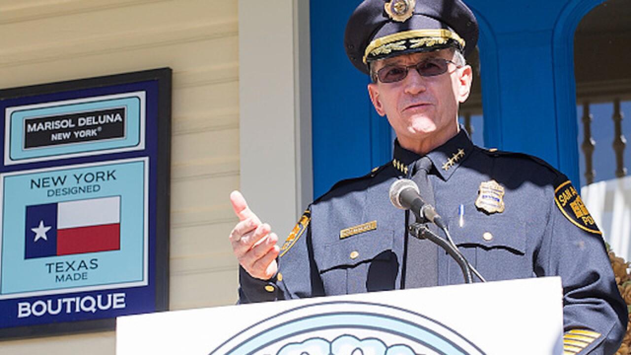 San Antonio police chief criticized for sending undocumented