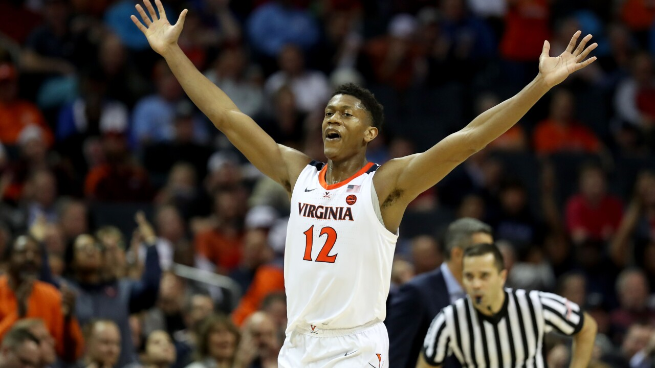UVA men's hoops team earns No. 1 seed in South region of NCAA Tournament