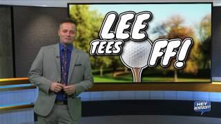 LEE TEES OFF!