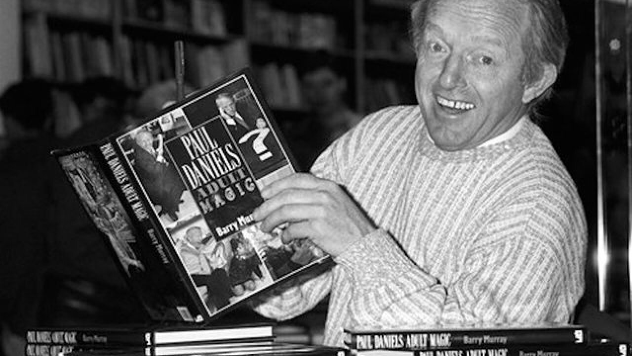 TV magician Paul Daniels dies of a brain tumor