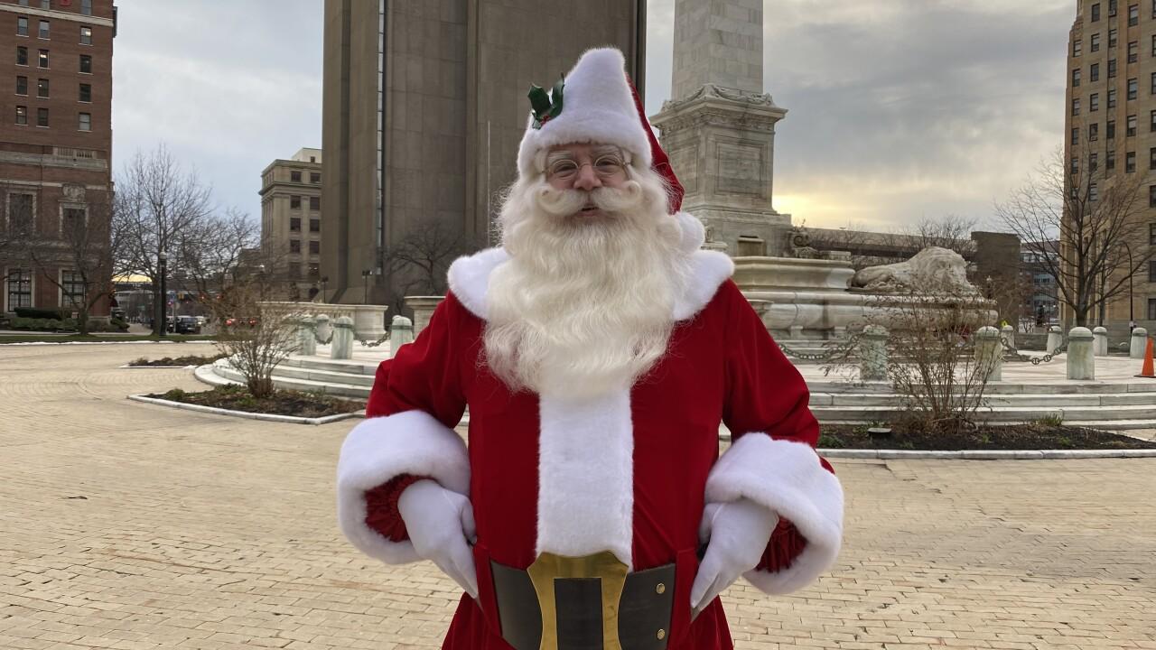 Santa stopped by Buffalo ahead of Christmas Eve!