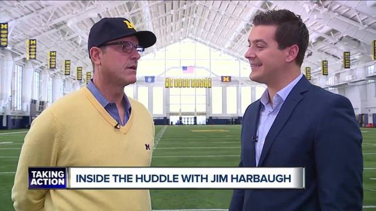 Harbaugh wants to see Webber, U-M come together