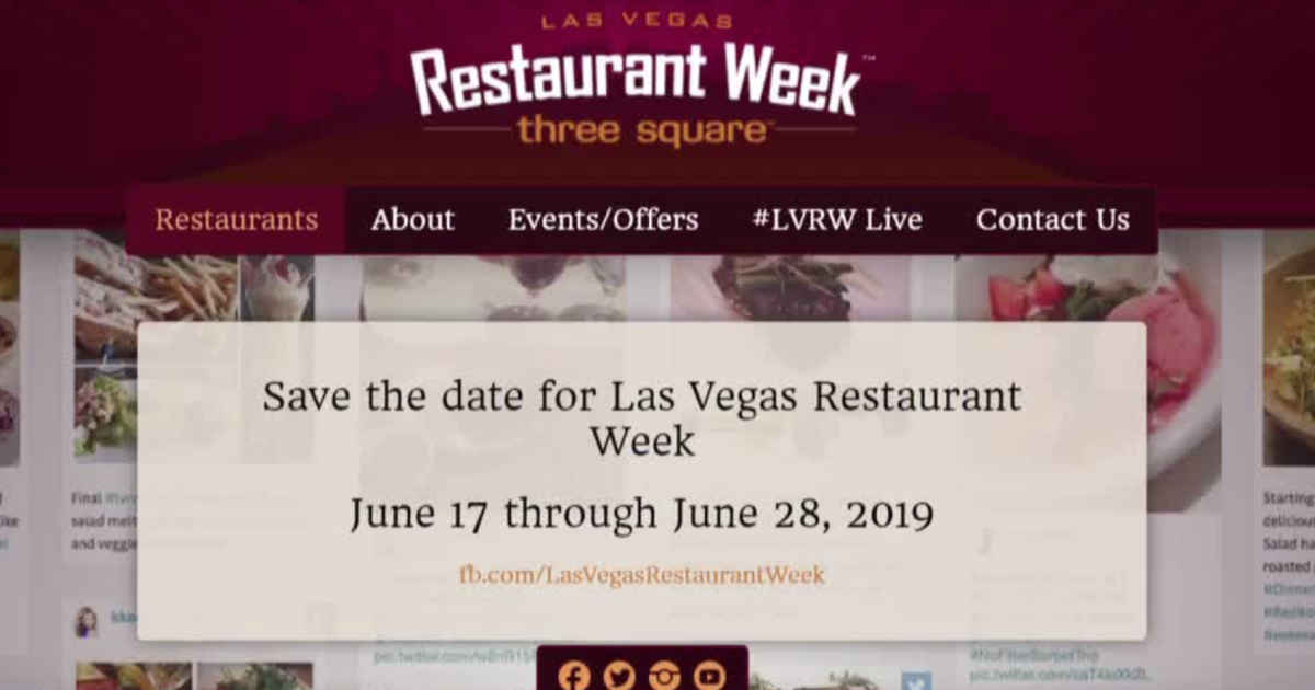 Here's what's being served for LV Restaurant Week