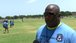 Alice football camp teaching more than just basic skills