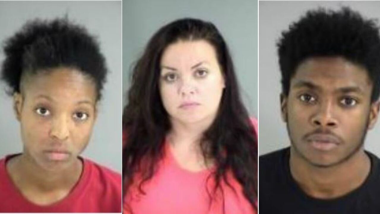 2 women, man charged with abduction, sex crimes in Henriconeighborhood