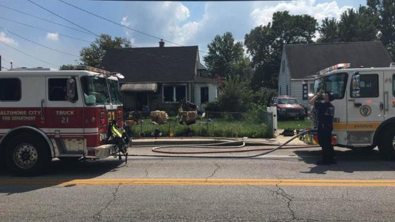Seven displaced after Brooklyn Park kitchen fire