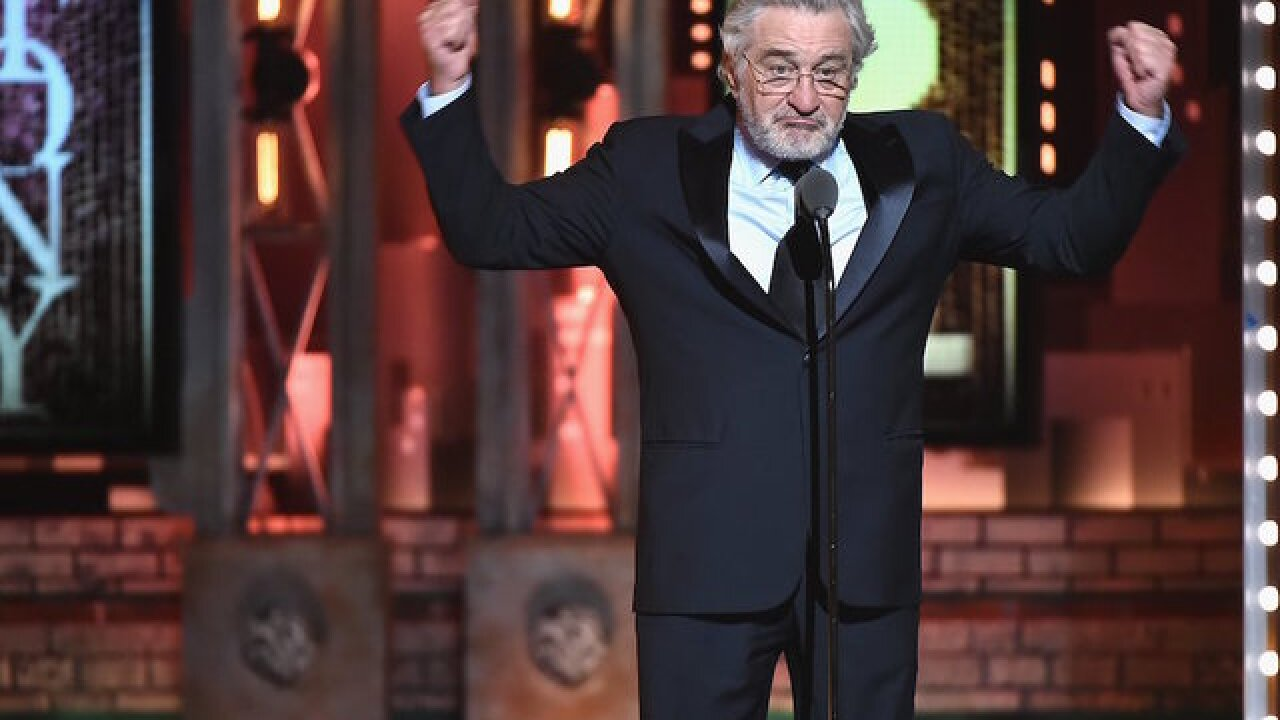 Trump punches back at Robert De Niro