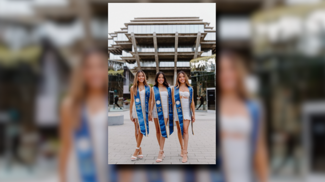 Nguyen triplets graduate from UCSD.png