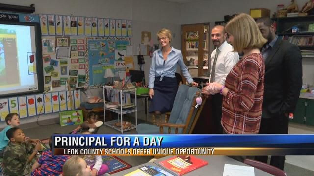 Leon County Schools Offer Principal for a Day Opportunity