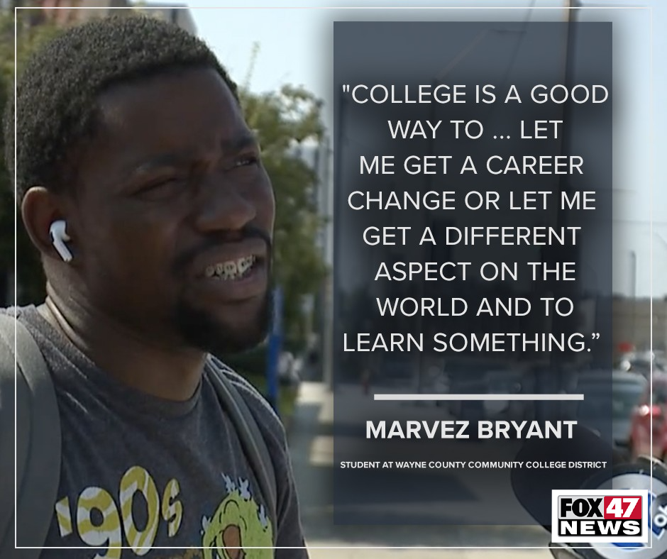 Marvez Bryant just got out of the United States Marine Corps after spending four years traveling the world, stationed in Norway to Japan.