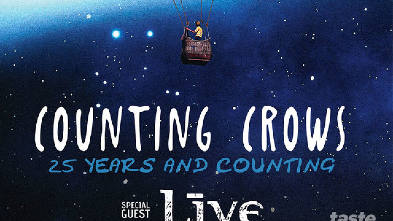 CONCERT ALERT: Counting Crows and LIVE