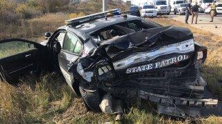nsp cruiser wreck crash mangled
