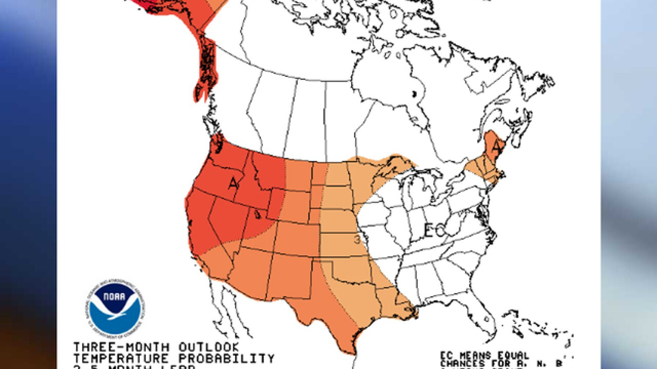 Forecast: Warmer winter with average rainfall