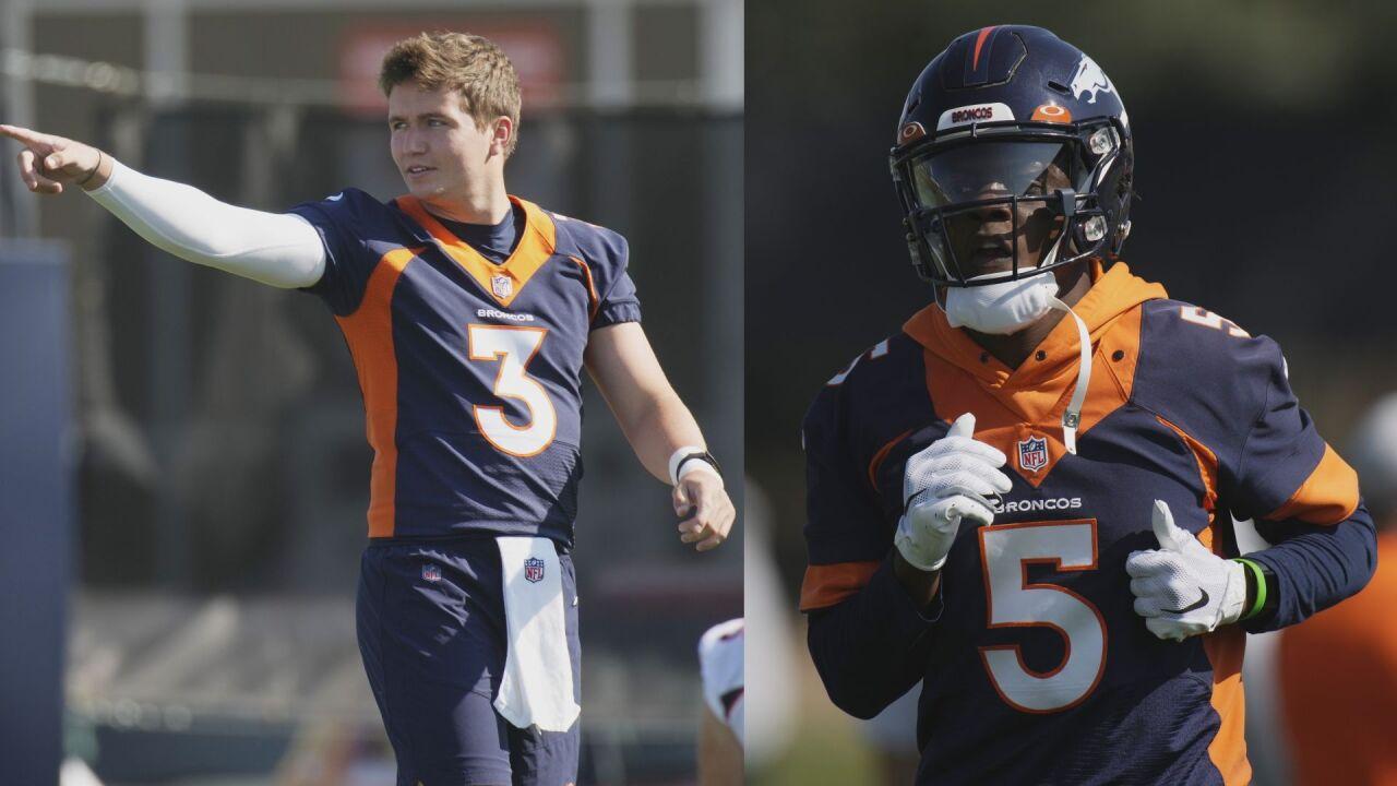 Lock vs. Bridgewater: Broncos QB competition begins
