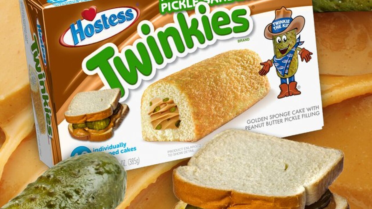 Hostess jokes about peanut butter and pickle Twinkies