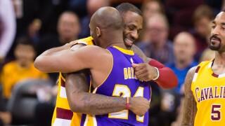 LeBron James, Kobe Bryant .