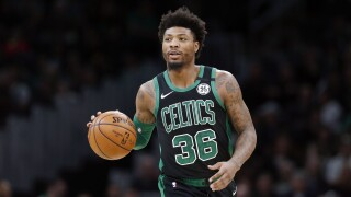 Celtics' Marcus Smart, three other NBA players to donate blood for tests after battling coronavirus