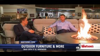 Watson's outdoor furniture and decor lasts through harsh weather conditions