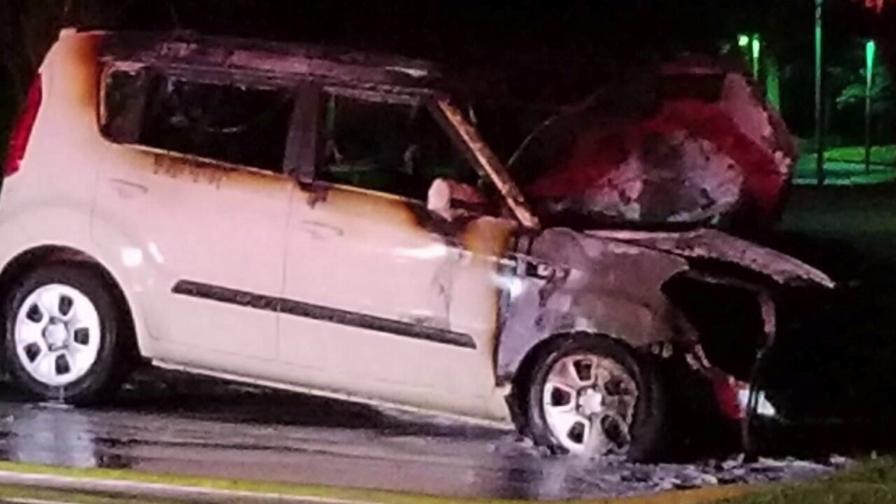 Powhatan family wants KIA to investigate vehicle fire: 'Thank God, our kid is OK'